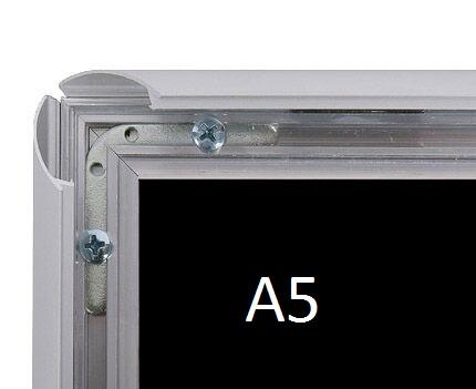 Cadre aluminium mural A5