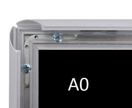 Cadre aluminium mural A0