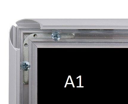 Cadre aluminium mural A1