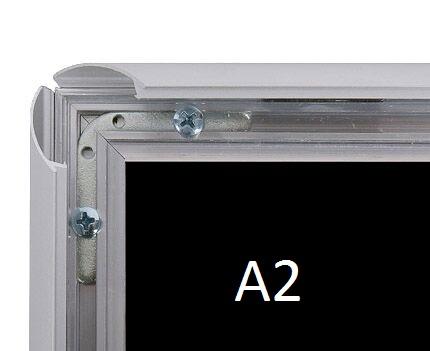 Cadre aluminium mural A2