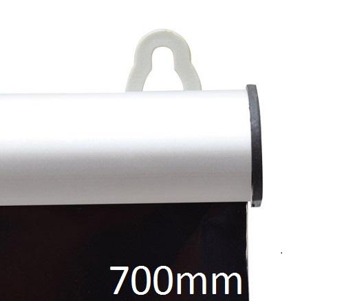 Porte affiche clippant 700 mm