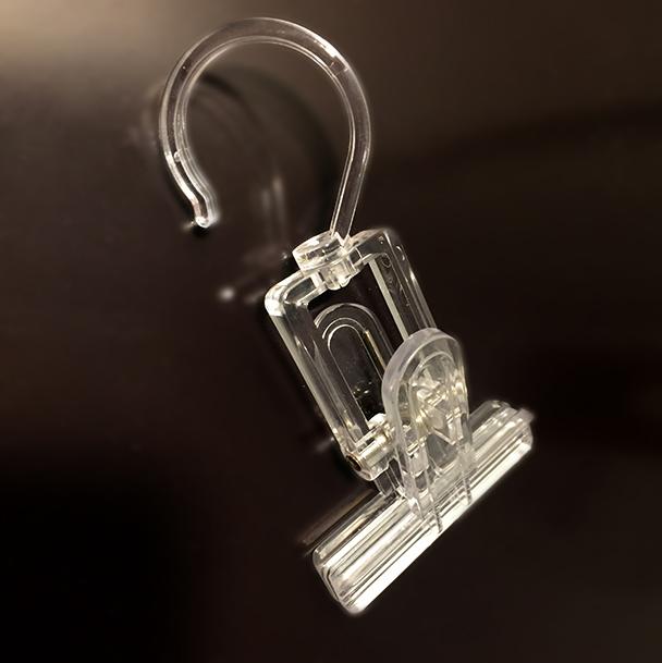 pince porte etiquette crochet portant/porte étiquette