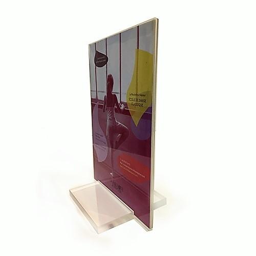 Porte visuel luxe A5 vertical